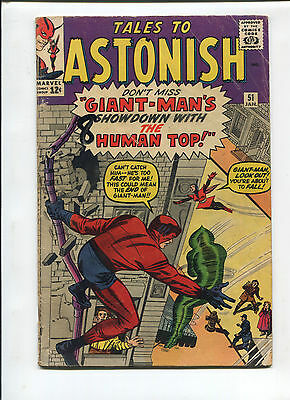 Marvel Tales to Astonish  #51  Very Good  Silver Age Comic  1960's