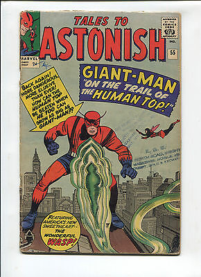 Marvel Tales to Astonish  #55 Very Good  Silver Age Comic  1960's