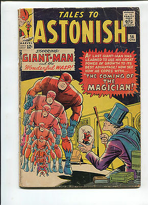 Marvel Tales to Astonish  #56 Very Good  Silver Age Comic  1960's