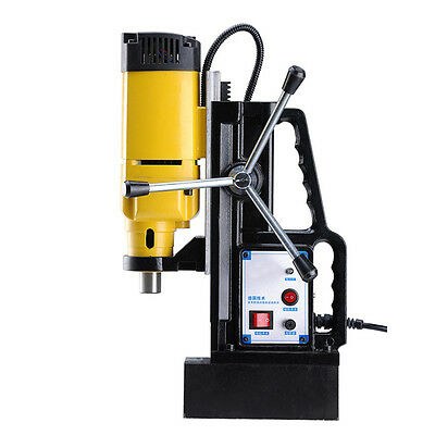"""EFL Magnetic Force Drill Press Rotate Electric Stepless Speed 1"""" Cutter Tool Kit"""