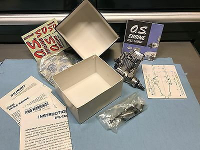 NEW OLDER OS FS-26 SURPASS 4-stroke R/C NITRO MODEL AIRPLANE ENGINE wBOX