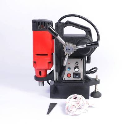 """EFLE Magnetic Force Drill Press Electric Stepless Speed 1"""" Auto Boring Tool Kit"""