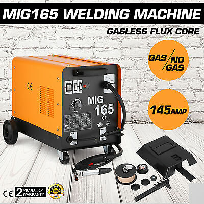 NEW  Welder Inverter 145Amp Welding Machine Gas Gasless MIG MAG Portable