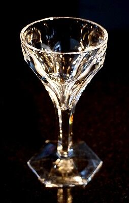 Beautiful Orrefors Sweden Crystal Sherry Glass