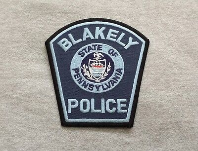 Blakely Pennsylvania Police Shoulder Patch