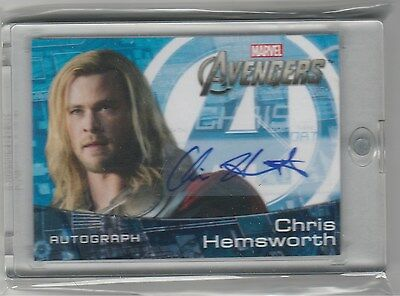 Upper Deck Avengers Auto Chris Hemsworth As Thor Ch Sp Autograph
