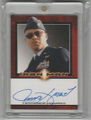Rittenhouse Iron Man Auto Terrence Howard Autograph Ssp Empire
