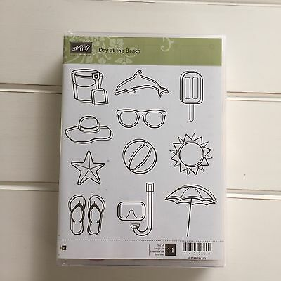 Stampin Up Day At The Beach Stamp Set
