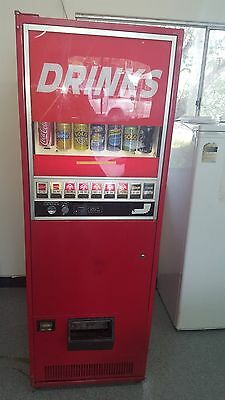 vending machine vintage sanyo coke machine