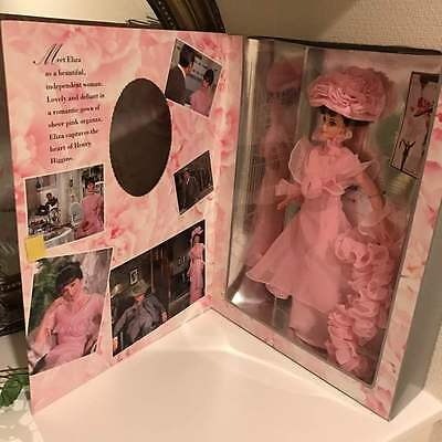 Audrey Hepburn My Fair Lady Pink Dress Barbie doll free shipping from japan
