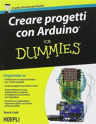 8820363232 / Creare Progetti Con Arduino For Dummies / Brock Craft