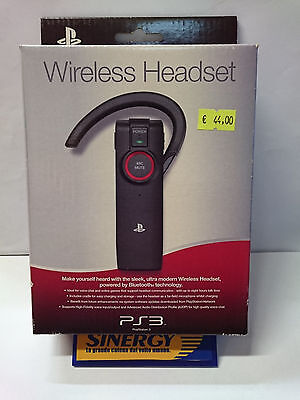 """ AURICOLARE WIRELESS "" con microfono per PLAYSTATION 3,nuovo ed originale SONY"