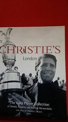 Christies Catalogue: The Gary Player Collection, Golf Memorabilia.