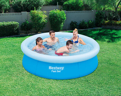 BESTWAY FAST SET POOL Φ 198cm x  51 EASY TO ASSEMBLE