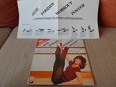 JANE FONDA'S Workout Record inkl. Super-Poster - 2 Lps