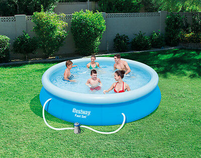 BESTWAY FAST SET POOL Φ 366 x 76cm EASY TO ASSEMBLE