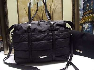 Authentic Burberry Quilted Diaper Bag $850.00