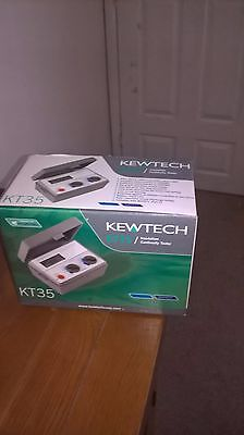 kewtech kt 35 digital tester insulation continuity/new boxed