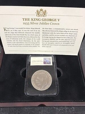 The King George V 1935 Silver Jubilee Crown