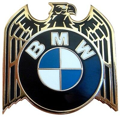 Bmw Old Skool Eagle Ace Motorcycle Beemer Enamel Pin Badge