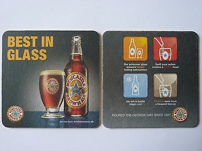 Newcastle Brown Ale Best In Glass Beermat Coaster
