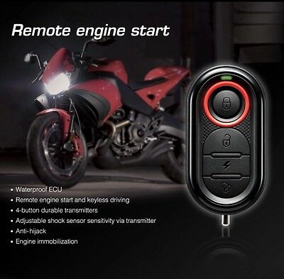 Original Brand New SteelMate 986E Motorcycle Alarm System Remote Engine Start