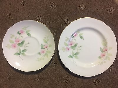Duchess China Sideplate And Saucer