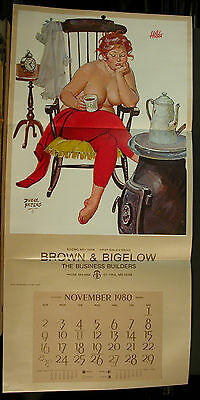 Duane Bryers Hilda Rocking Chair November 1959 Huge Trifold Calendar Sample