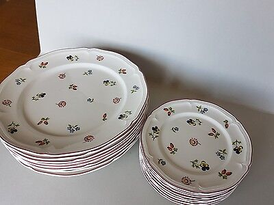Villeroy and Bosch Petite Fleur dinner service for 8