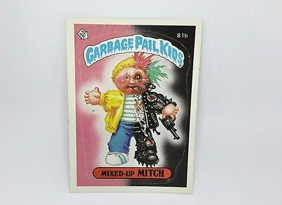"US Garbage Pail Kids ""MIXED-UP MITCH"" 1985 TOPPS CHEWING GUM, INC PRTD. IN USA"