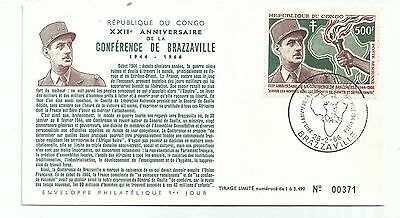 Congo 1966 500Fr Air On Cover Scarce