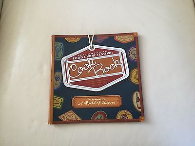 WDW - EPCOT Food & Wine Cook Book