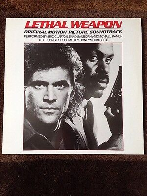 Lethal Weapon Original Motion Picture Soundtrack Lp