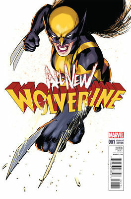 ALL NEW WOLVERINE #1 LOPEZ VARIANT MARVEL X-23 Bagged & Boarded NM