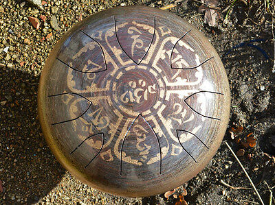 AM Drum - DESIGN YOUR OWN DRUM - any scale - steel tongue drum hank tank handpan
