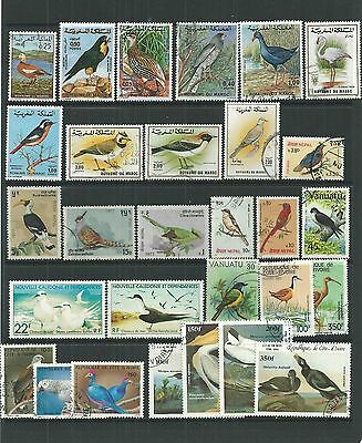Birds Super Selection Mint And Used