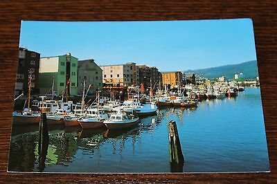 Trondheim Parti fra Indre kanal - View of the Inner harbour Norway Postcard