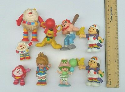 Vintage 1980s toy doll figurine figures Rainbow Brite Twink Sprite & others Bulk