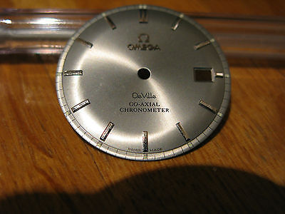 Omega Seamaster DeVille Co-Axial Silver/Grey Date Dial - in fantastic condition