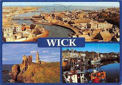 Wick Water and The Bay, Sinclair and Girnigoe Castles The Harbour