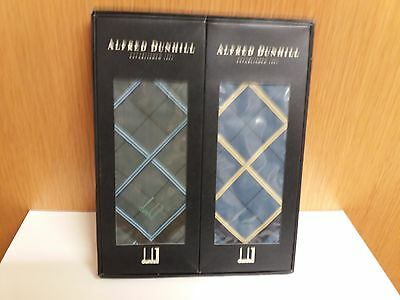 Vintage  Gents  Hankerchiefs   By  Dunhill  In  Original  Box