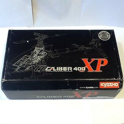 Kyosho Ep Caliber 400 Xp Helicopter R/c Kit Nip No. 20403B