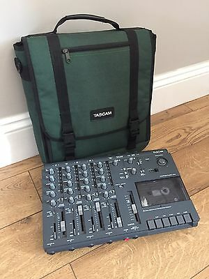 Tascam 414 MKI - 4 Track Analogue Cassette Recorder w/ Official Carry Case. RARE