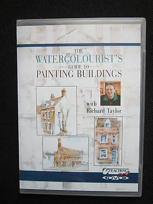 The Watercolourist's guide to painting buildings, Richard Taylor, DVD