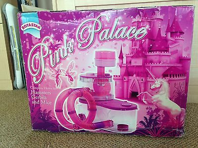 Rotastak Hamster Cage, Pink Palace Large Multi Level Boxed Complete Instructions