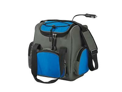 Insulated Electric Cooler Cool Bag 16L Food Drink Picnic Hiking Camping Fridge