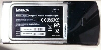 linksys wpc100 and d-link dwl-g630 WiFi cards