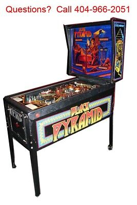 "1984 Bally Midway "" Black Pyramid "" pinball machine -Great condition"