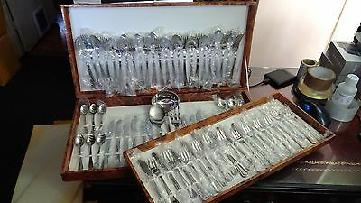 INOXPRAN 51 Piece Vintage Italian Cutlery Set INOX 18/10 ExDisplay New in box