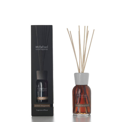 Sandalo Bergamotto Millefiori Stick Diffusor Natural Fragrances 100 ml
